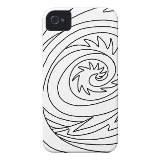Killer Wave DIY Coloring Doodle gifts iPhone 4 Case-Mate Cases