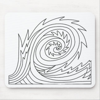 Killer Wave DIY Coloring Doodle gifts Mouse Pad