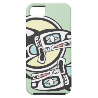 Killer Whale Circle iPhone 5 Cases