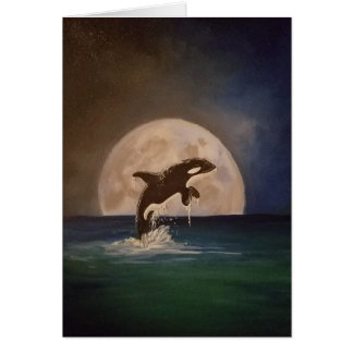 Killer Whale Greeting Card