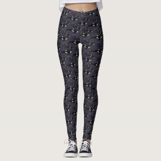 Killer Whale Leggings Orca Whale Leggings