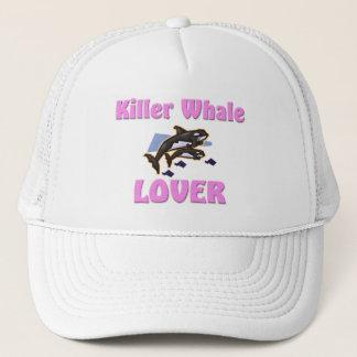 Killer Whale Lover Trucker Hat