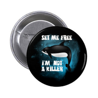 Killer Whale - Orca 2 Inch Round Button