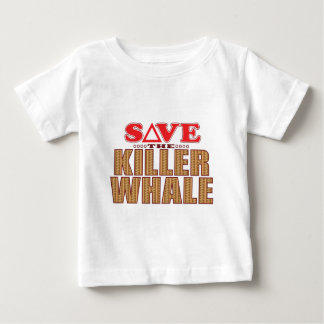 Killer Whale Save Baby T-Shirt