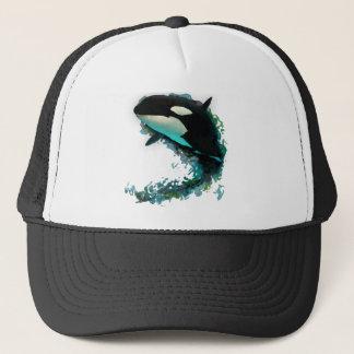Killer Whale Trucker Hat