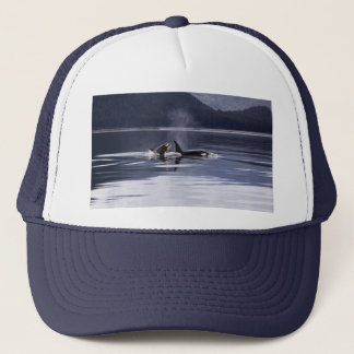 Killer Whales Trucker Hat