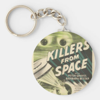 Killers from Space Basic Round Button Keychain