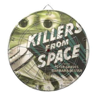 Killers from Space Dartboard
