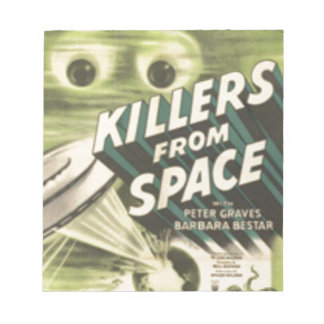 Killers from Space Notepad