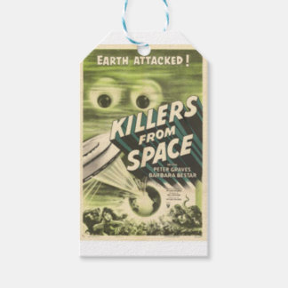Killers from Space Pack Of Gift Tags