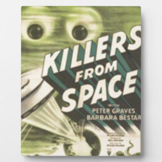 Killers from Space Plaque