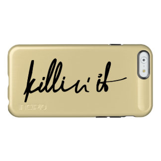 killin' it incipio feather® shine iPhone 6 case