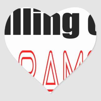 KILLING HARAMBE MEMORIAL SERVICE harambeismad inno Heart Sticker