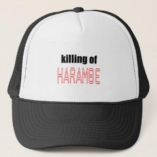 KILLING HARAMBE MEMORIAL SERVICE harambeismad inno Trucker Hat