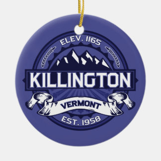Killington Midnight Ceramic Ornament