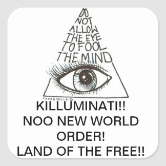Killuminati Sticker
