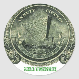 Killuminati Upside down Pyramid Sticker