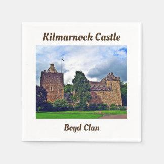 Kilmarnock Castle – Boyd Clan Paper Napkin
