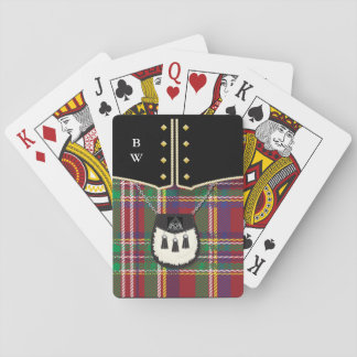 Kilt Playing Cards