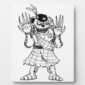 Kilted Bearman Plaque