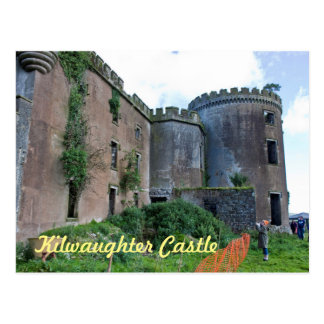 Kilwaughter Castle, County Antrim Postcard