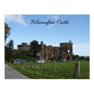Kilwaughter Castle Postcard