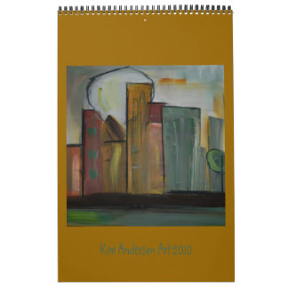 Kim Anderson Art 2010 Calendar