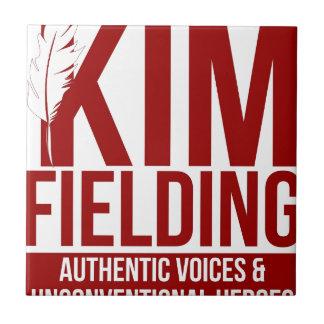 Kim Fielding logo Ceramic Tile