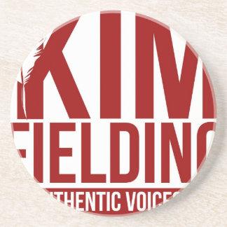 Kim Fielding logo Coasters