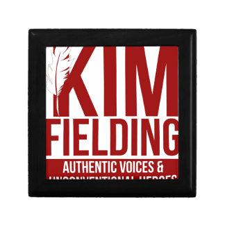 Kim Fielding logo Jewelry Boxes
