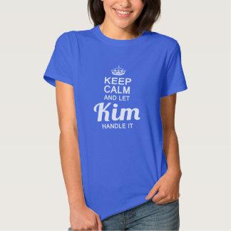 Kim handle it! tshirts
