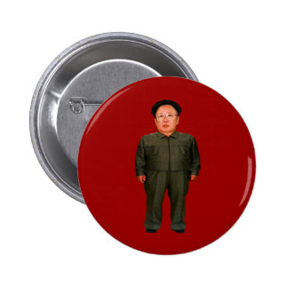 Kim Jong illin' 2 Inch Round Button