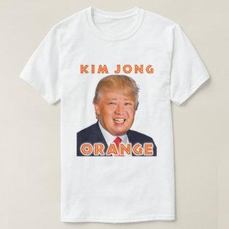 Kim Jong Orange | Donald Trump + Kim Jong Un T-Shirt