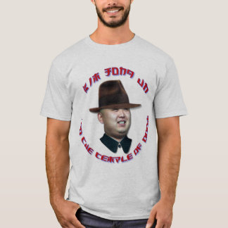Kim Jong Un and The Temple of Doom T-Shirt