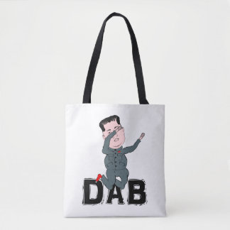 Kim Jong-Un Dabbing Tote Bag