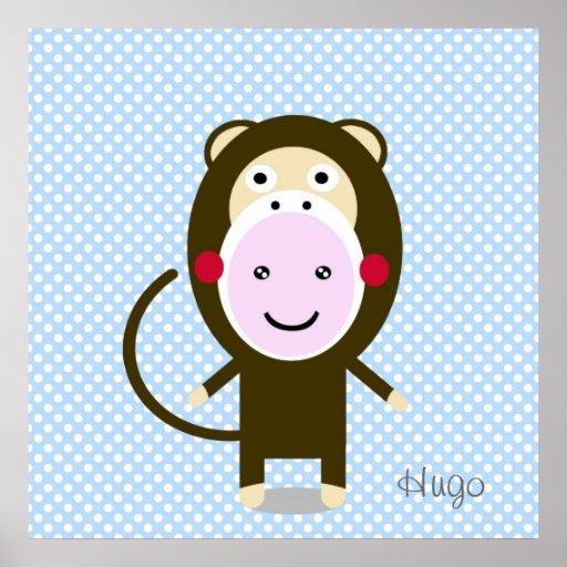 Kim Monkey Poster