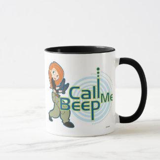 Kim Possible Call Me Beep Disney Mug