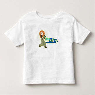 "Kim Possible ""No Big"" Disney Toddler T-shirt"