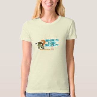 "Kim Possible Rufus ""what's the sitch?"" Disney T-Shirt"