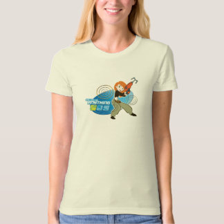 """Kim Possible """"She Can do Anything"""" Disney T-Shirt"""