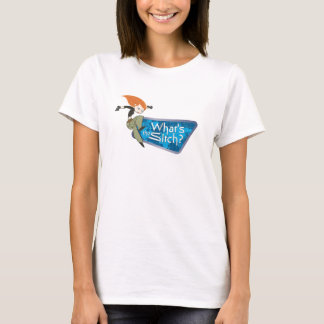 """Kim Possible's Kim """"What's the Sitch?"""" Disney T-Shirt"""