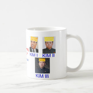 Kim Royal Family of North Korea Mug