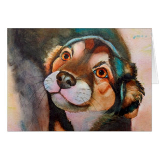 Kimba,Shepherd Terrier Mix Card