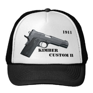 Kimber Custom II, KIMBER, Custom II, 1911 .45 ACP Trucker Hats