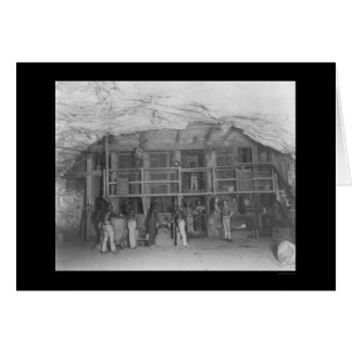 Kimberley Diamond Mine in South Africa 1899 Card