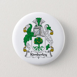 Kimberley Family Crest 2 Inch Round Button