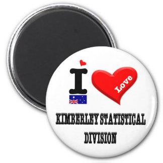 KIMBERLEY STATISTICAL DIVISION - I Love Magnet