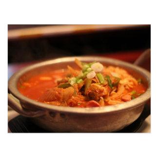 Kimchi Jjigae (Soup) Postcard