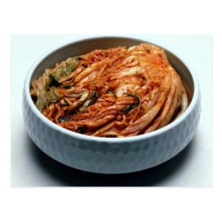 Kimchi (Korean pickles) Postcard