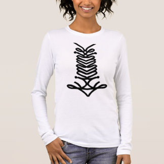 kimmie front long sleeve T-Shirt